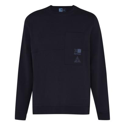 Bluze cu guler rotund Karrimor Karrimor Eco Era pentru Barbati bleumarin