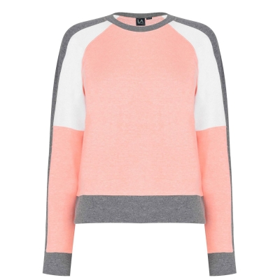 Bluze cu guler rotund LA Gear Crop pentru Femei