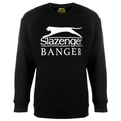 Bluza de trening Slazenger Banger Logo negru