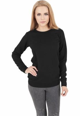 Bluze de dama cu model negru Urban Classics