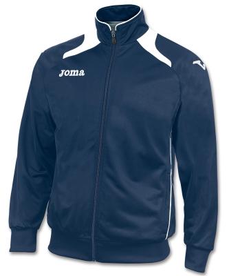 Bluze de trening Joma Poly-tricot Champion II bleumarin-blanc alb