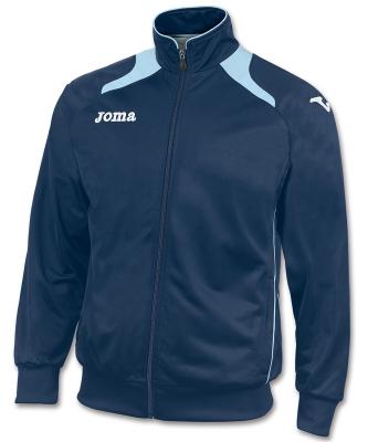 Bluze de trening Joma Poly-tricot Champion II bleumarin-celes sky albastru