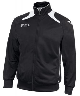 Bluze de trening Joma Poly-tricot Champion II Man Neg-blan negru alb
