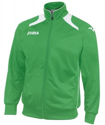 Bluze de trening Joma Poly-tricot Champion II verde-alb
