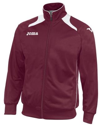 Bluze de trening Joma Poly-tricot Champion II Man Burgundy visiniu