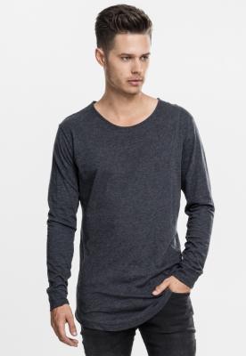 Bluze fashion cu maneca lunga gri-carbune Urban Classics