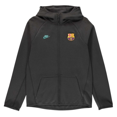 Bluze FC Barcelona FC Barcelona Essential Tech Juniors albastru rosu