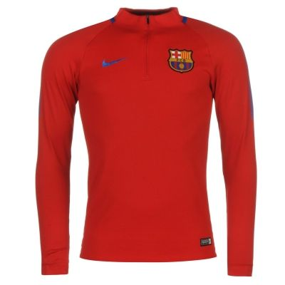 Bluze fotbal Nike Barcelona pentru Barbati rosu