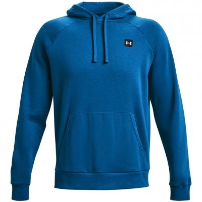 Bluze Hanorac Under Armor Rival albastru 1357092 432 pentru Barbati