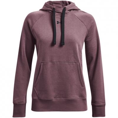 Bluze Hanorac Under Armor Rival HB mov 1356317 554 pentru femei