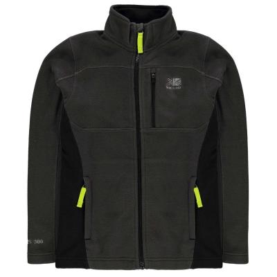 Bluze Jacheta Karrimor pentru copii gri carbune negru