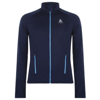 Bluze Jacheta Odlo Proita pentru Barbati diving bleumarin