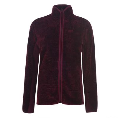 Bluze Jack Wolfskin Leaf pentru Femei rosu burgundy