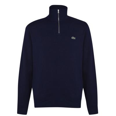Bluze Lacoste quarter bleumarin
