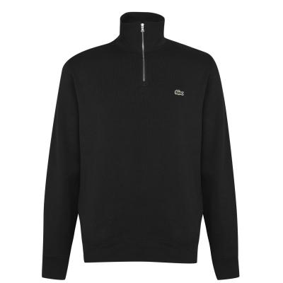 Bluze Lacoste quarter negru