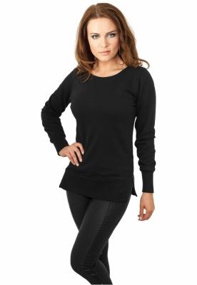 Bluze lungi pentru colanti cu fermoar negru Urban Classics