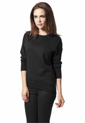 Bluze mai lungi in spate dama negru Urban Classics