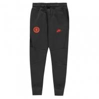 Bluze Pantaloni jogging Nike Chelsea FC pentru baietei negru portocaliu