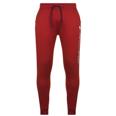 Bluze Pantaloni jogging Tommy Sport Tommy Sport HBR biking rosu