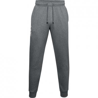 Bluze Pantaloni Under Armor Rival 3Logo Jogger gri inchis 1357131 012 pentru Barbati