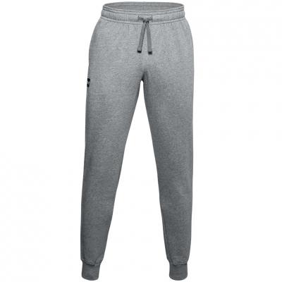 Bluze Pantaloni   Under Armor Rival Jogger gri 1357128 012 pentru Barbati