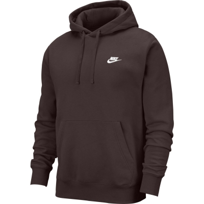 Bluze Pulovere Hanorac Nike Sportswear Club pentru Barbati maro