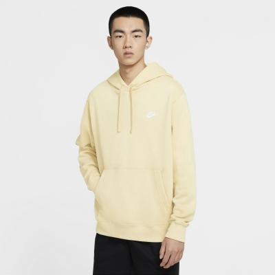 Bluze Pulovere Hanorac Nike Sportswear Club pentru Barbati galben