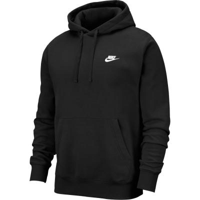 Bluze Pulovere Hanorac Nike Sportswear Club pentru Barbati negru
