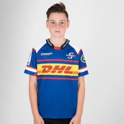 Bluze rugby Genuine Connection Promotions Stormers Replica pentru Copii albastru roial alb