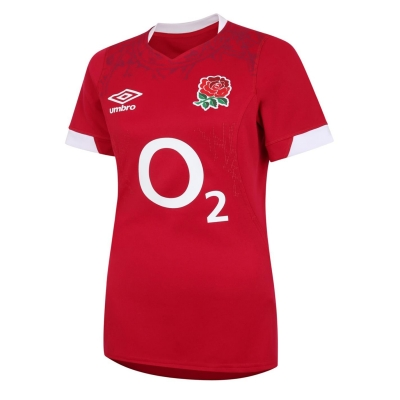 Bluze rugby Umbro Anglia Alternate 2021 2022 pentru Femei rosu albastru