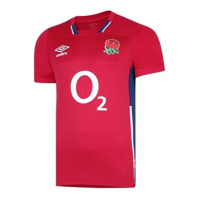 Bluze rugby Umbro Anglia Alternate 2021 2022 rosu albastru