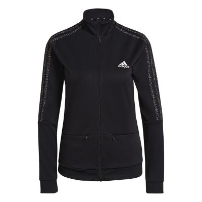 Bluze trening adidas fotbal Sereno pentru femei negru gri alb
