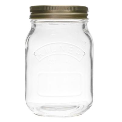Borcan Kilner 0.5L Screw Lid transparent