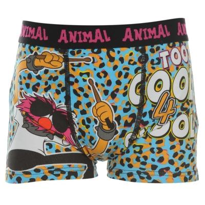 Boxeri Disney Muppets Animal Single baietei