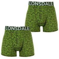 Boxeri Set 2 Lonsdale pentru Barbati