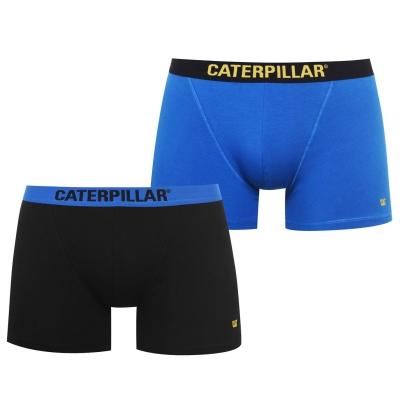 Boxeri Set 2 Caterpillar pentru Barbati negru albastru