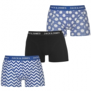 Boxeri Set de 3 Jack and Jones Fashion Trunk