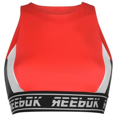 Bustiera Reebok Workout pentru Femei canton rosu