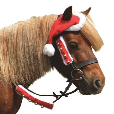 Caciula Battles Craciun Mos Craciun Horse
