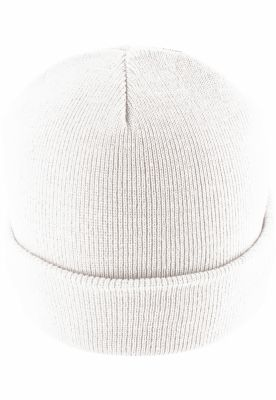 Caciula Beanie Basic Flap alb MasterDis