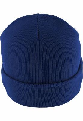 Caciula Beanie Basic Flap albastru-roial MasterDis
