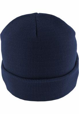 Caciula Beanie Basic Flap bleumarin MasterDis
