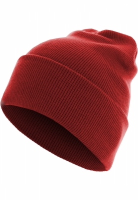 Caciula Beanie Basic Flap Long Version rosu MasterDis