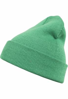Caciula Beanie Basic Flap verde MasterDis