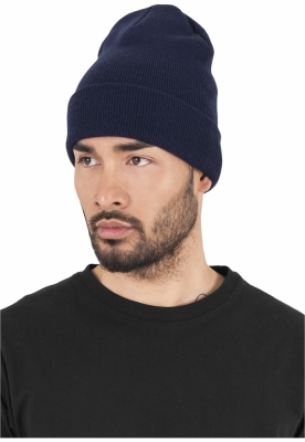 Caciula Beanie Heavyweight Long bleumarin Flexfit