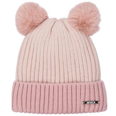 Caciula Beanie Nevica Banff pentru fetite roz