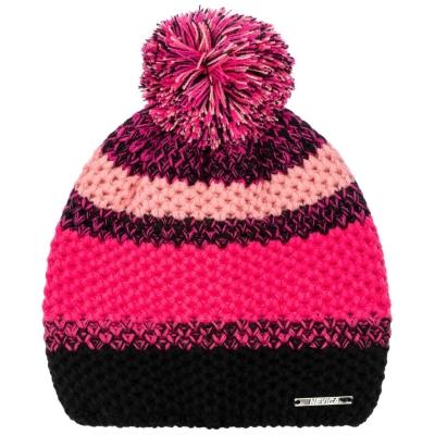 Caciula Beanie Nevica roz negru
