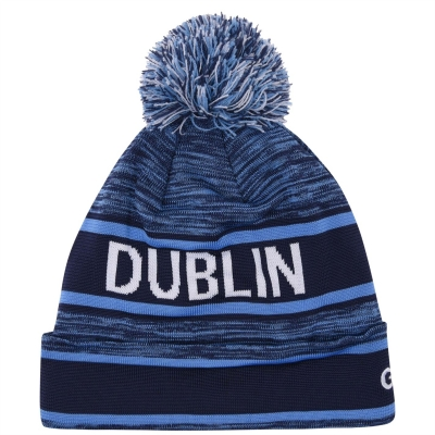 Caciula Beanie Official Dublin GAA pentru Barbati bleumarin albastru