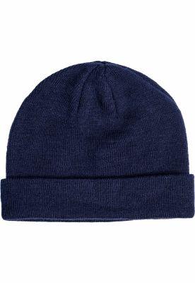 Caciula Beanie Short Cuff tricot bleumarin MasterDis