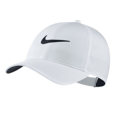 Caciula Nike AeroBill Heritage86 Golf pentru femei alb